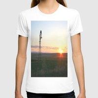 montana T-shirts featuring Montana Sunset by Kim Ramage