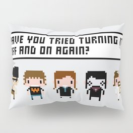 The IT Crowd Characters Pillow Sham