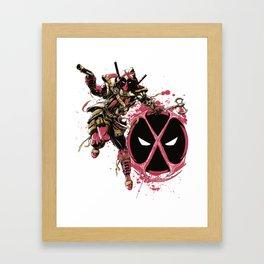 Dead P. Framed Art Print