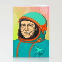 kevin russ Stationery Cards featuring Kevin Spacey by IvaDim