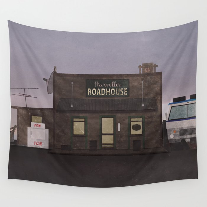 The Harvelle's Roadhouse Supernatural Wall Tapestry
