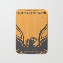 No398 My smokey and the bandits minimal movie poster Bath Mat