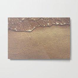 Ocean traces Metal Print