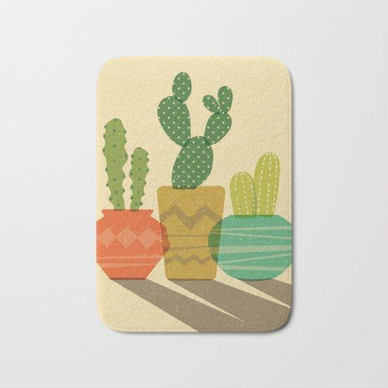 Cactus Trio Bath Mat