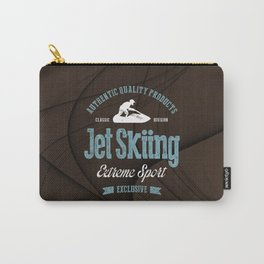Jet Skiing Extreme Sport Carry-All Pouch