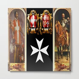 Knights of Malta Metal Print