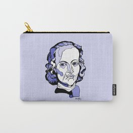Composer Johann Pachelbel Baroque Violin Artwork Wall Art Canon in D Wedding music Gift for Bride Carry-All Pouch