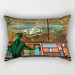 Control Room Rectangular Pillow