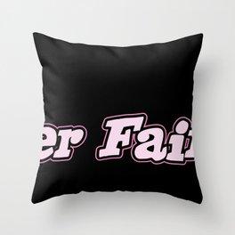 Beer Fairy Throw Pillow