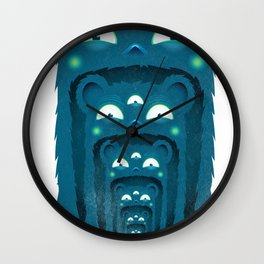 SALVAJEANIMAL BOCA Wall Clock
