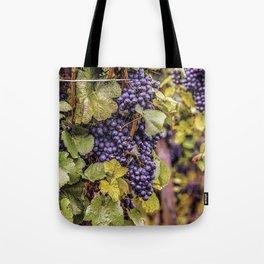 Newport Wine Vineyard and Grapes, Rhode Island Tote Bag