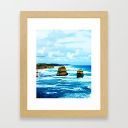 Rough Waters Framed Art Print