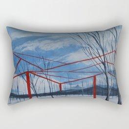 Interruptions Rectangular Pillow