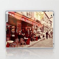 Coffehouse, Sidewalk Cafe Laptop & iPad Skin