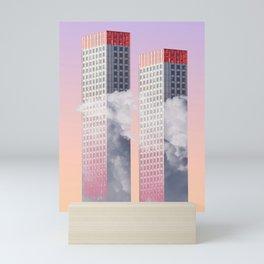 Twin towers New York Mini Art Print