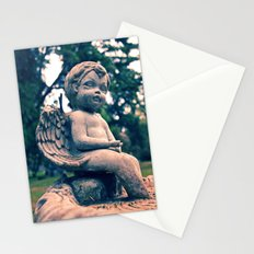Cemetery putto Stationery Cards