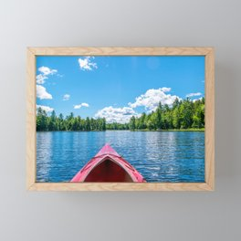 Just Keep Paddling Framed Mini Art Print
