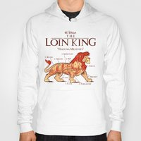hakuna Hoodies featuring THE LOIN KING by BeastWreck