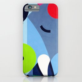 Elephant - Paint iPhone Case