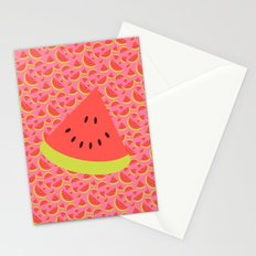 Spring watermelon Stationery Cards