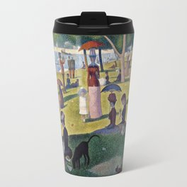 Georges Seurat - A Sunday On La Grande Jatte Travel Mug