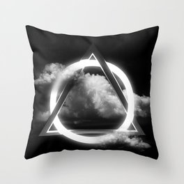 Sacred Geometry - Trinity  06 Throw Pillow