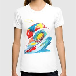 The right storm - Colourful abstract T-shirt