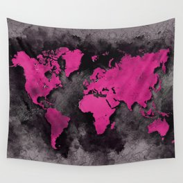world map 139 #worldmap #map Wall Tapestry