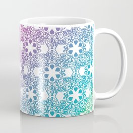 Rainbow Lace Coffee Mug