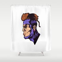 xmen Shower Curtains featuring x23 by jason st paul