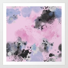 Dreamy abstract artwork pattern Art Print