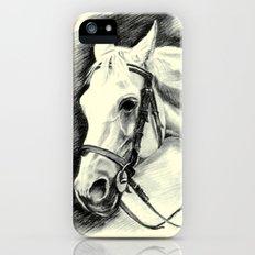 Horse-portrait iPhone (5, 5s) Slim Case