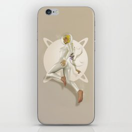 Sci-Fi PinUp iPhone Skin