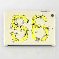 pugs iPad Cases featuring Pugs Prank by Huebucket