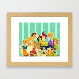 knight academy Framed Art Print