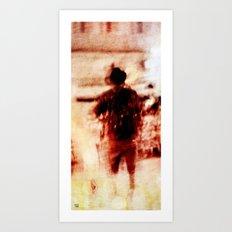 whirlwind sprint Art Print