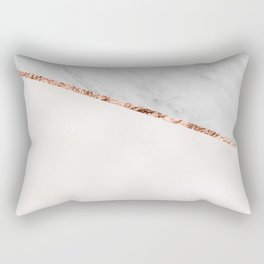 Park Avenue pearl marble Rectangular Pillow