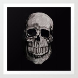 Keep smiling when your dead Art Print