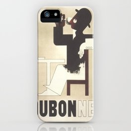 Vintage poster - Dubonnet iPhone Case