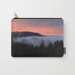 February Morning Sunrise Carry-All Pouch