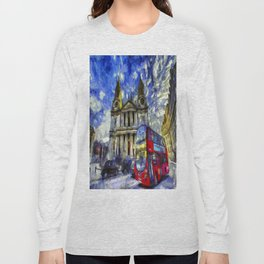 Vincent Van Gogh London Long Sleeve T-shirt