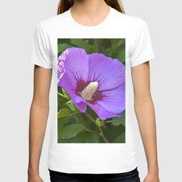 Impression de fleurs françaises T-shirt