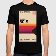 Super Tape Mens Fitted Tee X-LARGE Black