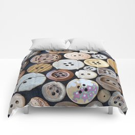 Wooden Buttons Comforters
