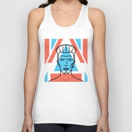 David Bowie – Earthling Unisex Tank Top