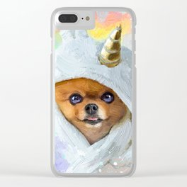 Pom Clear iPhone Case