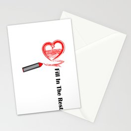 Fill in the Rest Stationery Cards