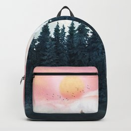 Forest Under the Sunset Backpack