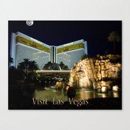 Visit Las Vegas Canvas Print