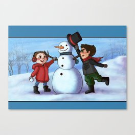 Sterek Winter Canvas Print